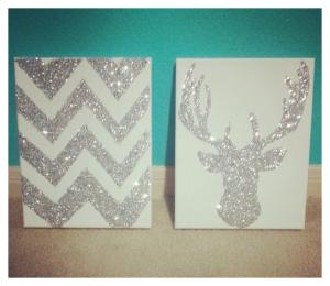 Glitter Wall Art
