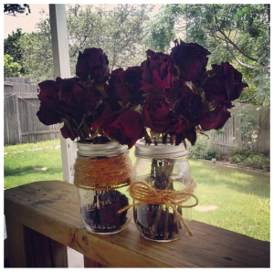 DIY Dried Roses